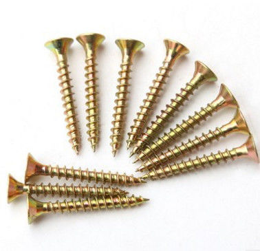 Sus304 Sus316 Spax Solid Wood Flooring Screws For Plywood Subfloor Yellow White