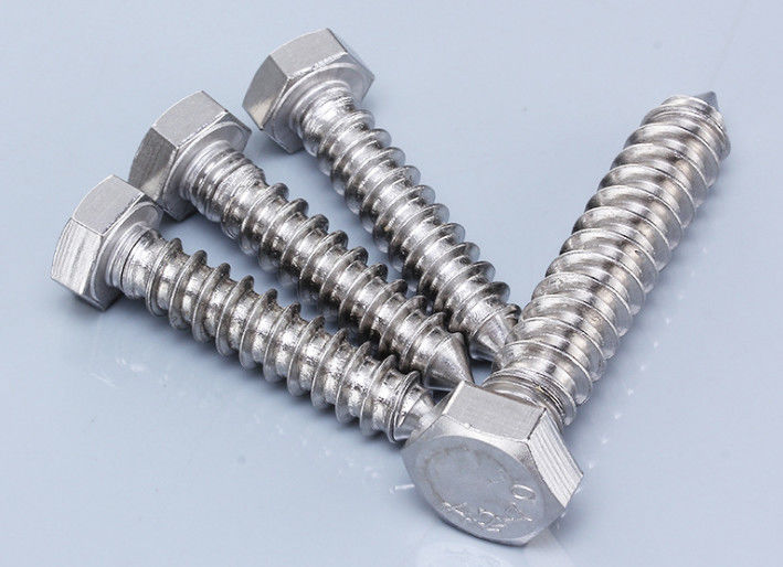 Decorative Hex Socket One Inch Stainless Steel Wood Screws , Heavy Duty Timber Screws