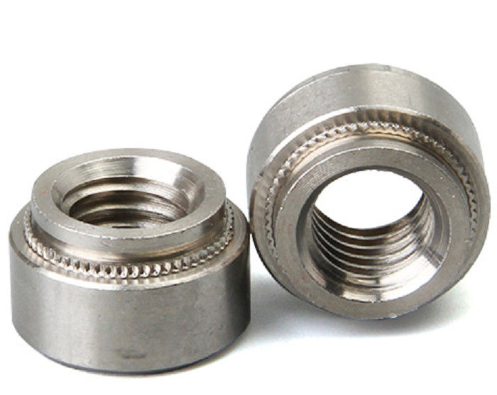 Stainless Steel Aluminum Blind Rivets Nuts Insert Round Head , Self Clinch Nuts For Sheet Metal